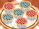 In diesem Koch-Spiel können lernen, wie man einige leckere kleine Kuchen vorbe
