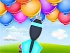 Holen Sie sich das perfekte Timing, um den Dart in Balloon Pop zu schieße