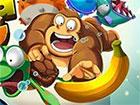 Banana Kong Online ist ein Spiel, in dem du Kong the Ape dabei hilfst, so viele