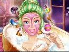 Gehen Sie in Barbies Bad und finden Sie heraus ihre erstaunliche Schönheit Rou