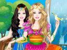 Verwenden Sie Ihre erstaunliche Stylistin Talent zu kleiden Barbie für ihre Ma