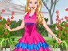 Im Sommer Barbie liebt es, in den geheimen Garten zu sitzen. Im geheimen Garten