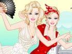 Barbie ist ein großer Fan der berühmte US-amerikanische Schauspielerin, Model