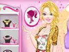 Spielen Sie dieses süße Spiel namens Barbie Prom Style und helfen Sie dieser