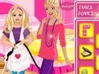 Barbie Mutter gibt Barbie eine Reinigung Job. A...