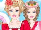 Barbie liebt die extravaganten und übermäßig verzierte Rokoko-Mode-Stil. Bar