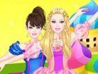 Da Barbie ist ein girly Mädchen und ein Mode-Diva, hofft sie, sogar noch anmut