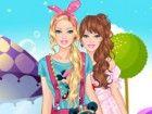 Kleid mit Stil und verspielt sein mit Ihrer Kleidung und Accessoires wie Barbie