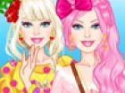 Schauen Sie sich Barbie übergroßen Tops und l...