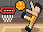 Basket Random ist ein lustiges Ein-Knopf-Basketballspiel mit coolen Physik- und
