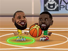 Basketball Legends 2019 ist ein Cartoony-Basketballspiel mit Bobblehead-NBA-Spi