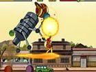 In diesem Spiel Ben 10 kämpft einen riesigen Roboter erstellt von Megawatt. De