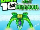 Ben 10 Jet Mission. Es ist ein Spiel, wo Sie zu Checkpoint-Rennen, bevor Sie di