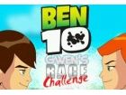 Ben 10 und Gwen hält ein Turnier zu sehen, wer von beiden ist der schnellste R
