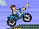 Spielen Sie dieses schöne Rennen Spiel mit Ben! Ben auf seinem Moto Racing. Ve