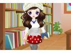 Jane ist scharf auf die Bücher und geht immer auf Bibliothek. Sie können nich