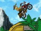 Durch eine fossile Wald und Explorer neue Fossilien für Ihre Motorrad fahren S
