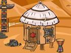 Billy Tribal Hut Escape ist ein spannender Punkt und klickt Wildnis Rettungs Es