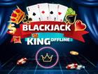 Ein typisches / traditionelles Kartenspiel: Blackjack. Spielen Sie ein Casino-S