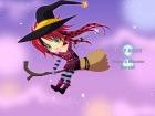 Blesilda ist ein emo Hexe mit einem magischen Besen. Sie können nicht nur ihre