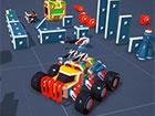 Basteln und bauen Sie Ihr eigenes Spielzeugauto und unternehmen Sie eine Fahrt