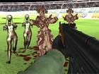 Bloody Zombie Cup ist ein lustiges Ego-Shooter-Spiel mit Zombie-Überlebens-Gam