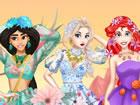 Das Hauptereignis des Feenkönigreichs - der Blumenball, brachte Prinzessin