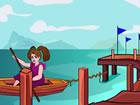 Boot Mädchen Fluchtist ein Point-and-Click-Escape-Spiel. Stellen Sie