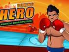 Bekämpfe in Boxen Held Punsch Meister&n...