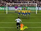 Brasilien und Argentinien stehen sich im Elfmeterschießen gegenüber! Wähle d