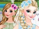 Können Sie Braut Elsa und Brautjungfer Anna aus gefrorenem bekommen ein schön
