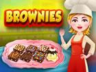 Ein Brownie ist ein flaches, gebackenes Quadrat oder eine Tafel aus Schokolade