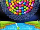 Dies ist ein spezielles Bubble-Shooter-Spiel, in dem Sie ein rotierendes Rad au