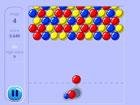 Bubbles ist das beliebte Arcade-Spiel, bei dem du farbige Blasen in den Spielbe