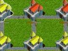 Burgen Kriege - sind Sie der roten Spieler. Alle feindlichen Schlösser (neutra