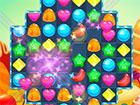 Candy Land Road ist ein Match-3-Spiel mit köstlichen Süßigkeite