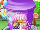 Ich bin Dekoration my little candy shop. Es wird in ein paar Tagen geöffnet. K