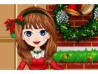 Candy dachte über jedes kleine Detail für ihre Weihnachtsfeier! Eine fröhlic