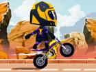 Genieße ein nettes Cartoon-Trial-Bike-Fahrspiel. Und testen Sie Ihr K&oum