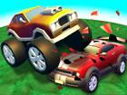 Im CarWarz.io-Spiel kämpfen 18 verschiedene Comic-Autos auf 4 verschiedene