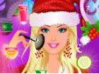 Weihnachten kommt, so muss Barbie schöner aussehen als je zuvor. Sie braucht e