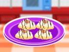 Schokoladen-Mandel-Makronen sind perfekt für Tee-Partys. Wenn Sie sich für ei