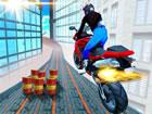 Es ist Zeit, deine Fähigkeiten auf Motorrädern mit dem City Bike Stun