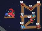 Imposter Clash ist ein lustiges und fesselndes 2D-Puzzlespiel. Deine Mission is