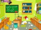 Meine Klasse und ich habe in meinem Labor gearb...