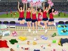 Werde ein fabelhaftes Cheerleader und jubeln auf Ihrem Heim-Team, wie sie das l
