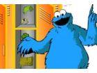 O anderes verkleiden Sie Cookie Monster.