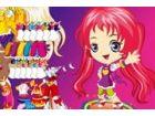Dieses kleine Mädchen ist ein großer Fan von japanischen Cartoons. Sie liebt