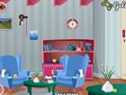 Cottage modernes Zimmer entkommen ist ein aufregendes Point & Click-Indoor-