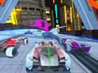 Cyber Cars Punk Racing ist ein 3D Auto-Fahrspiel mit futuristischen Autos